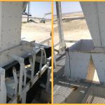Accessoires de Transporteurs de Mise à Terril du Phosphogypse