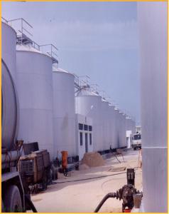 Réservoir de stockage d'huile d'olive