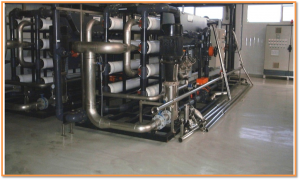 Unité de dessalement par osmose inverse